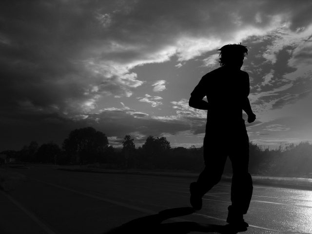 Natt löpning